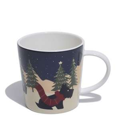 Radley Christmas Cup £12 + £3.99 del at Radley Shop