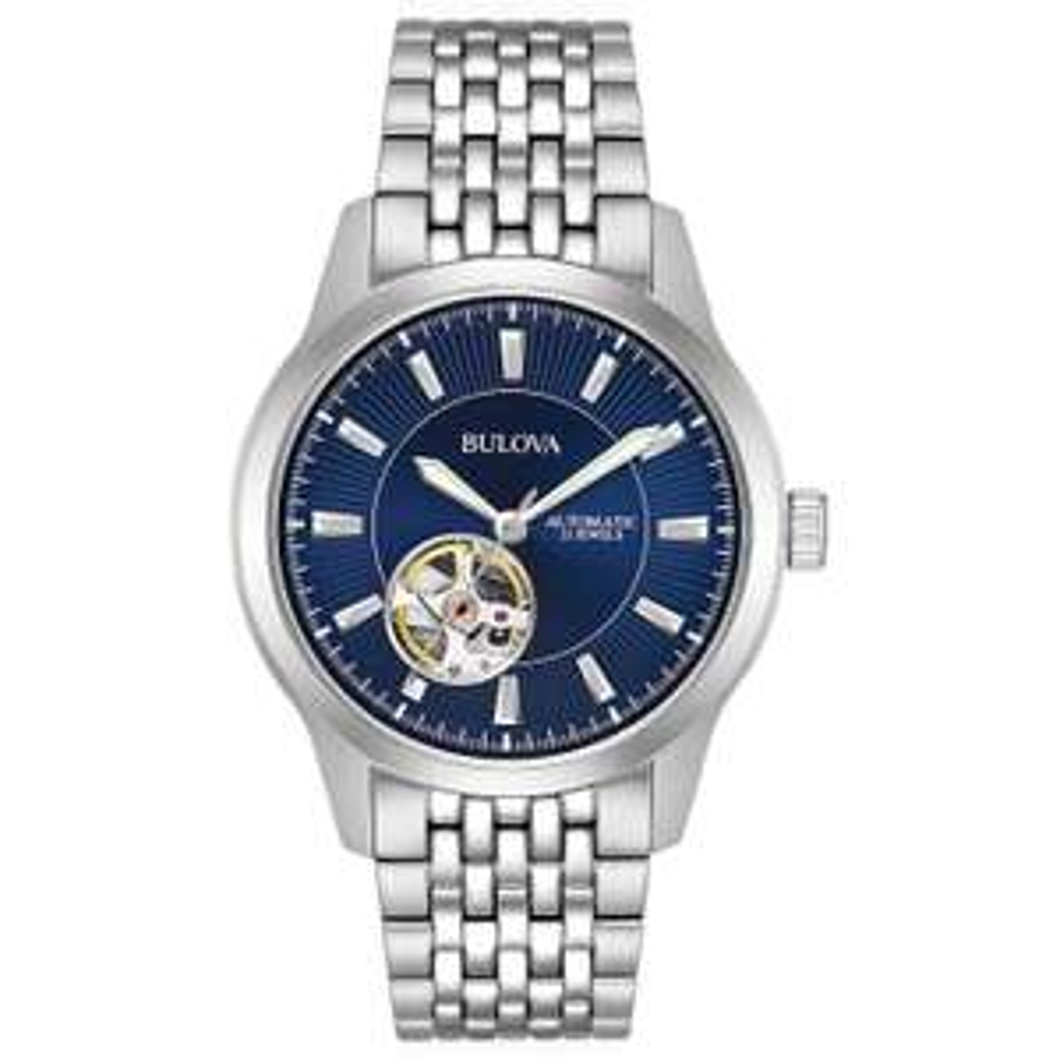 Bulova Mens Automatic Watch £88.79 (With Code) & Free P&P @ H Samuel