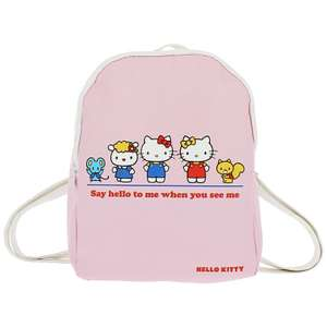 Hello Kitty kids faux leather backpack £2.69 @ Home Bargains