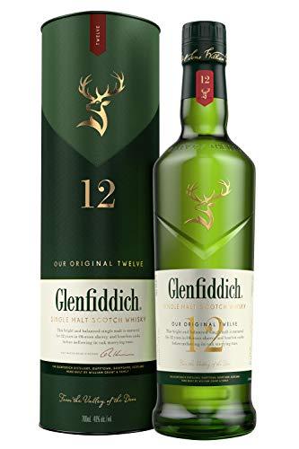 Glenfiddich 12 Year Old Single Malt Scotch Whisky £27 at Amazon