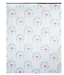 Flamingo Shower curtain £1.50 at George Asda - Free click and collect