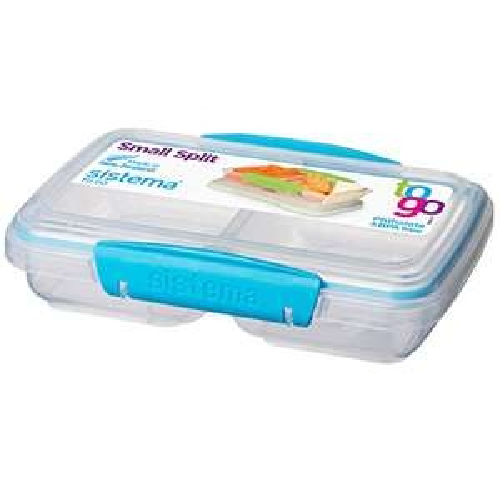 Sistema To Go Split Compartment Lunch Box 350ml £2.99 prime / £7.48 non prime @ Amazon