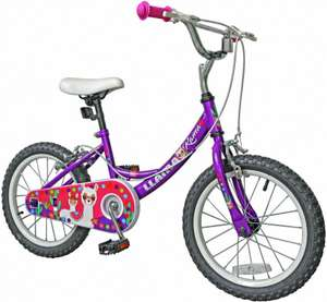 Llama 16 inch Wheel Size Kids Bike - £39.99 (Free Click & Collect) @ Argos