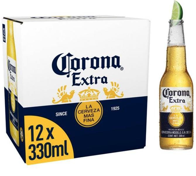 Imported Corona beer 12 pack £9.99 @ Morrisons Stratford