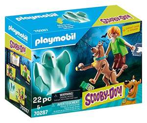 Playmobil Scooby-Doo Scooby and Shaggy with Ghost Toy £9.00 Prime at Amazon (+£4.49 non Prime)