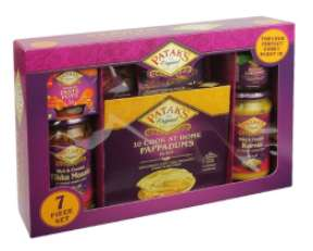 Pataks Cook at Home Pappadums Hamper - £1 @ B&M (Poole)