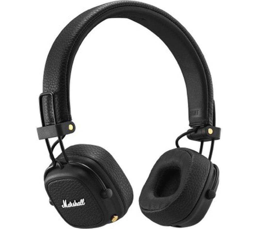 MARSHALL Major III Wireless Bluetooth Headphones - Black, £49 at Currys PC World
