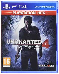 Uncharted 4: A Thief's End - Playstation Hits (PS4) - £7.99 / (+£2.99 Non Prime) delivered @ Amazon