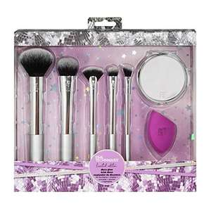 Real Techniques 5-Piece Disco Glow Make-Up Brush and Sponge Set £11 + £4.49 NP @ Amazon