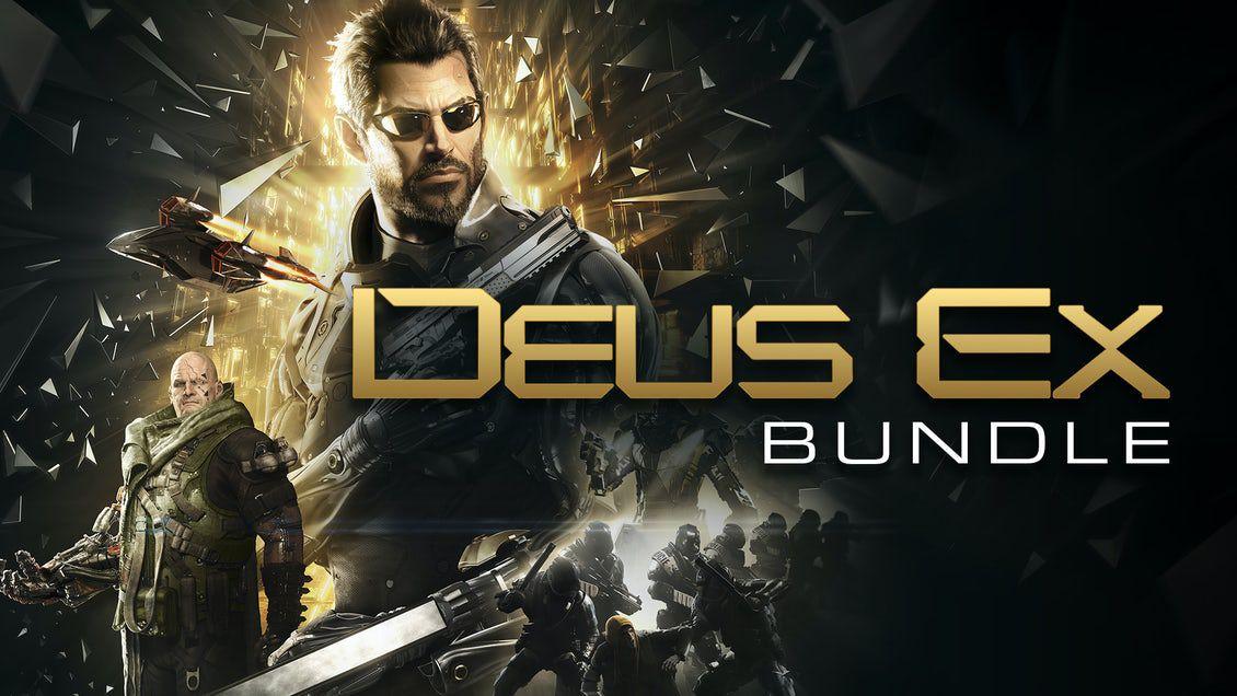 4 Deus Ex games bundle PC £9.49 at Fanatical