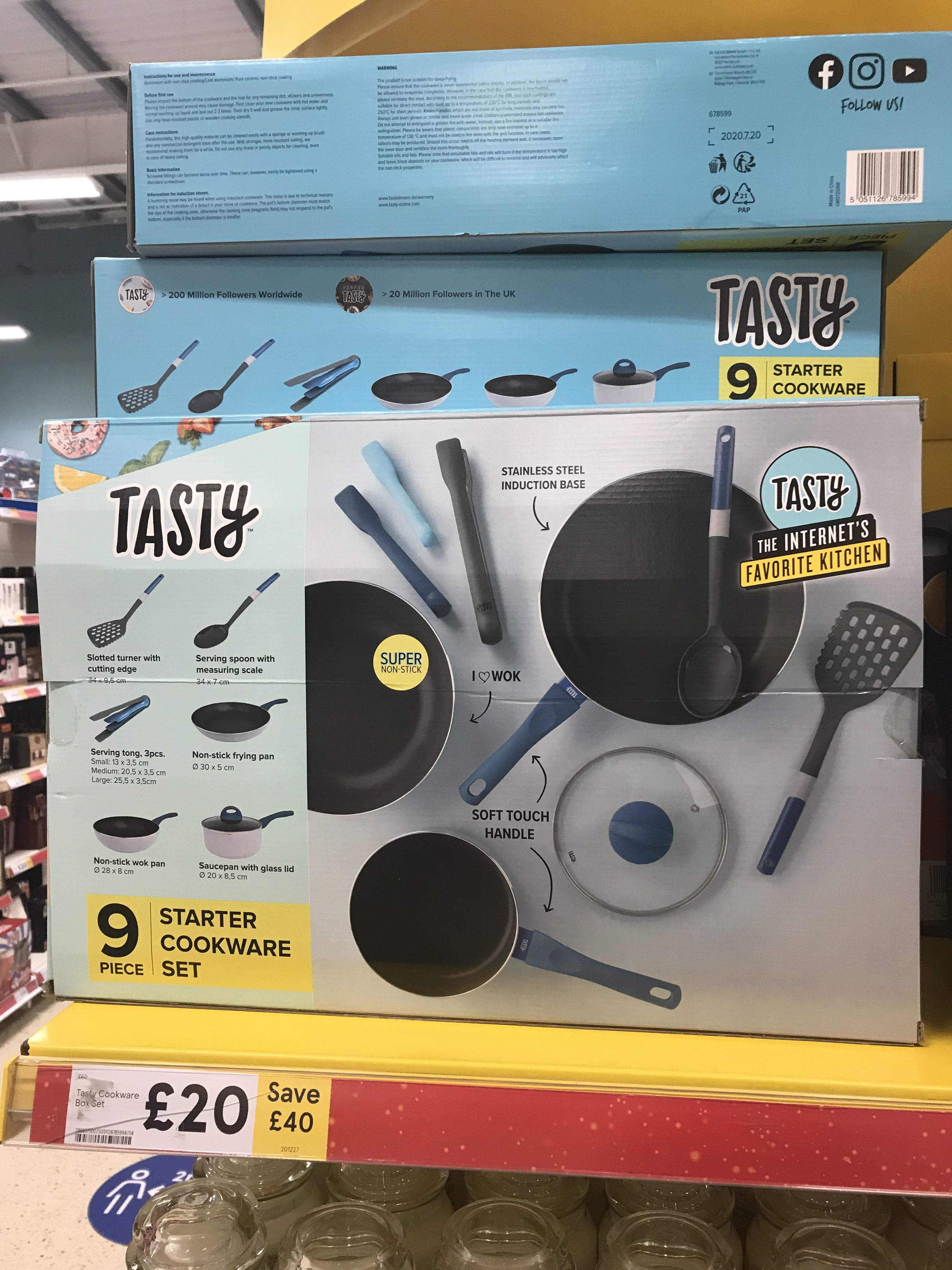 Starter Cooking set - 9 items £20 @ Tesco (Enniskillen)