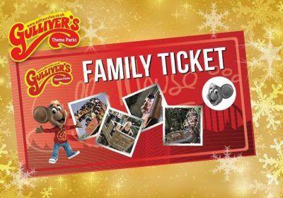 Gullivers kingdom Theme park family ticket via planet offers £39 family of 4 @ Planet Radio