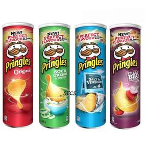 Pringles 200g All Flavours - £1 (Clubcard Price) @ Tesco