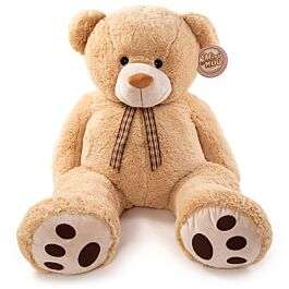 Miri Moo Giant 4ft Plush Albert Teddy Bear - Beige £39.99 (£34.99 with code) @ Robert Dyas FREE Click & Collect