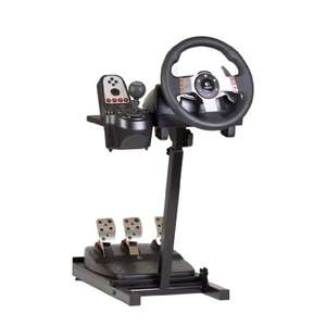 The Ultimate Steering Wheel Stand in Black - suitable for Logitech, Xbox, Madcatz and Thrustmaster £47.03 Amazon