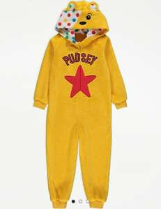 Pudsey / Blush Children In Need Onesie £4 @ Asda George free Click & Collect / £2.95 delivery
