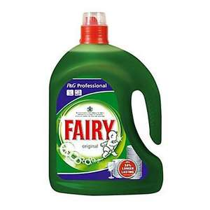 Fairy Professional Unscented Washing up liquid 2.5L - £3 at B&Q click & collected (limited stock)