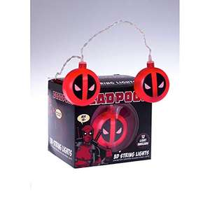 Marvel Deadpool Logo 3D String Lights £13 Prime / £17.49 Non Prime Sold by Clearance Game Deals and Fulfilled by Amazon.