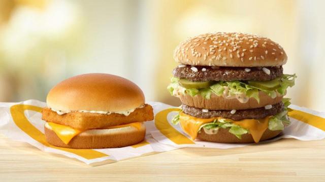 Big Mac or Filet-O-Fish for 99p via App @ McDonald's - Account specific
