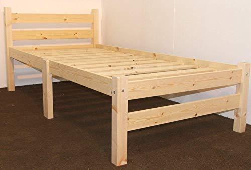 Samson Pine Bed Frame, 3ft Single - 66.99 delivered @ Amazon