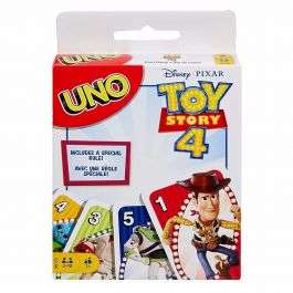 Disney Toy Story 4 Uno Card Game - £4.49 + Free Delivery / No Min Spend @ BargainMax