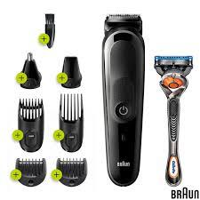 Braun 8-in-1 Beard & Face Trimmer + Hair Clipper + Gillette Fusion 5 ProGlide Razor, MGK5260 - £29.89 @ Costco
