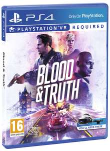Blood & Truth (PS VR / PS4 with PS5 update) £15.85 Delivered @ Shopto