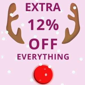 Extra 12% Off Everything including the up to 70% Off Sale using discount code @ Brastop