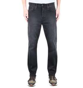 EdwinED-45 Ink Black Loose Tapered 11.5oz Denim Jeans £18 + £4.95 delivery at Brown Bag Clothing