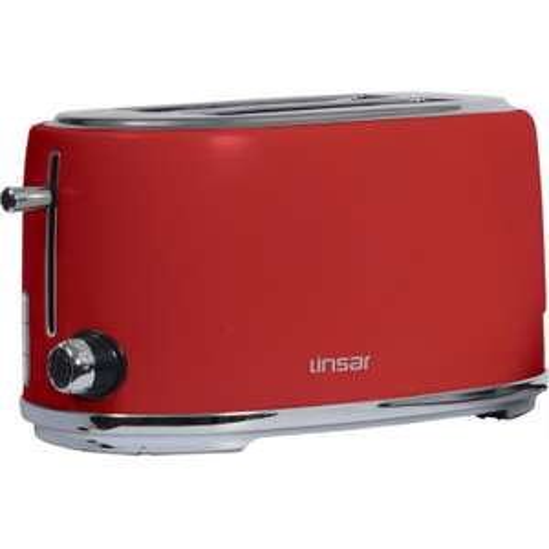 Linsar 4 slice / 2 long slot toaster £13.76 + £4.99 @ Appliance electronics