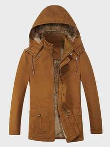 Shein sherpa-lined winter men's coat for £39.09 delivered using code @ Shein