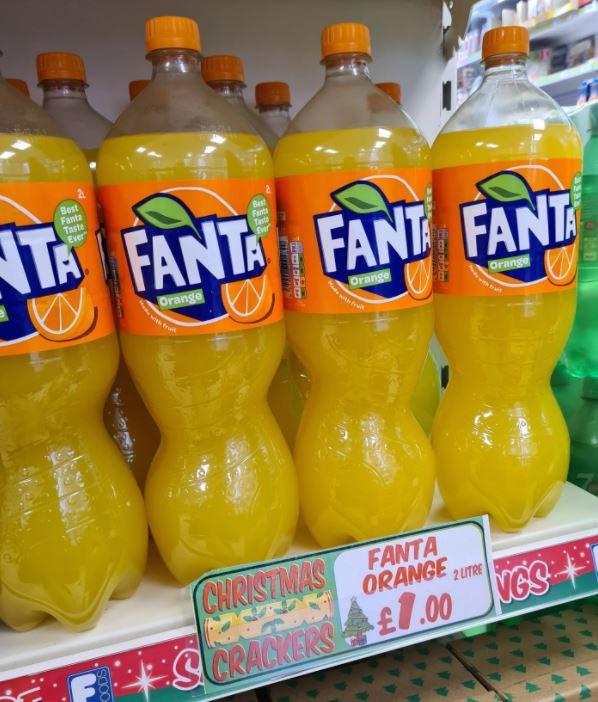 Fanta Orange 2 Litre Bottles are £1 @ Fultons Foods (Rochdale)