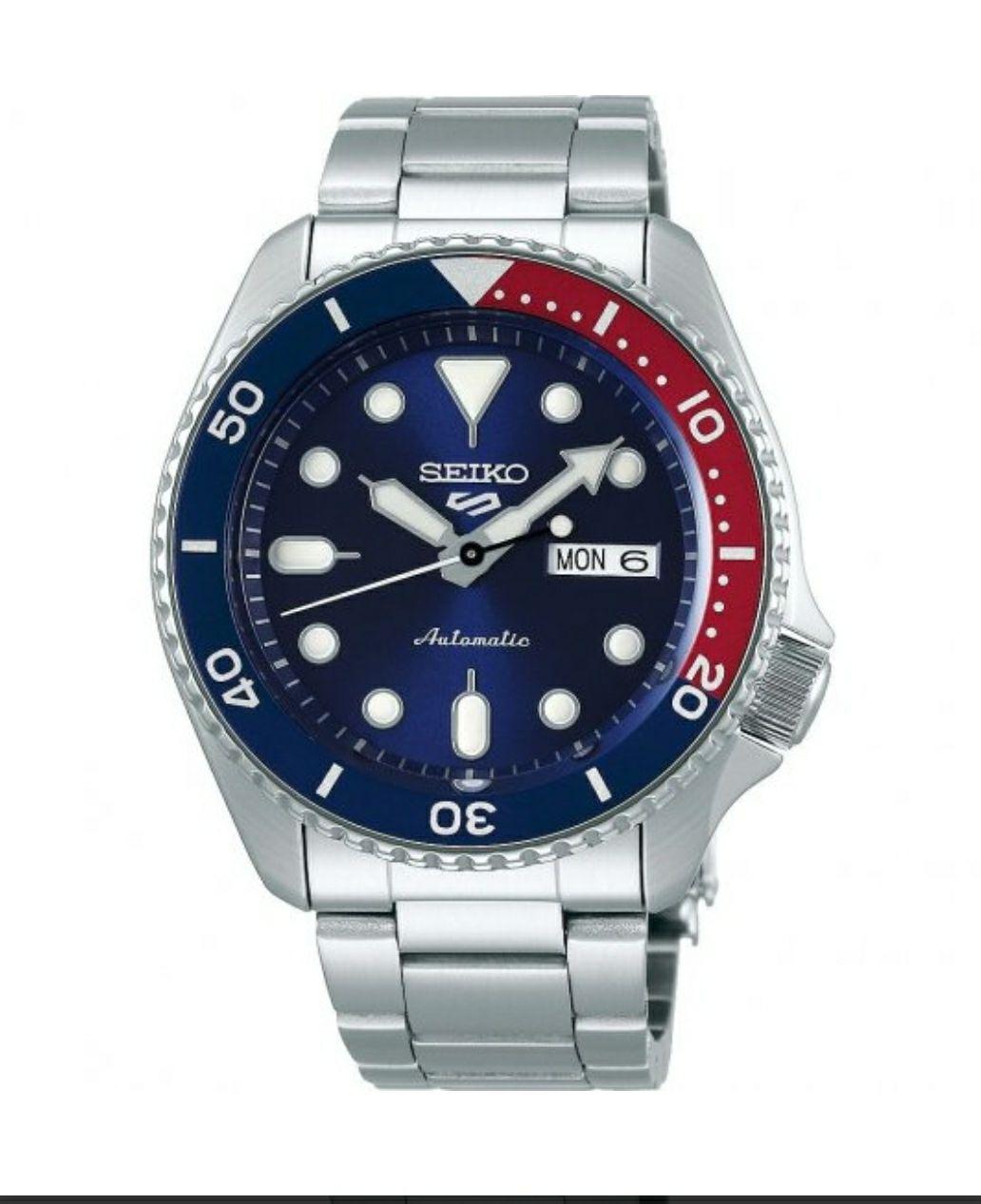 Seiko 5 Pepsi SRPD53K1 £150 @ The watch hut