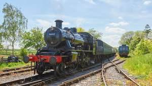 Steam Train Ride for Two on the East Somerset Railway with Cream Tea in the Whistlestop Cafe £21.56 @ Red letter days