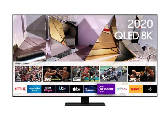 "SAMSUNG QE65Q700T 65"" (2020) 8K TV £1999 @ Spatial"