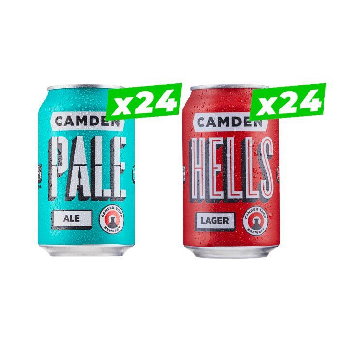 Camden Monster Pack (48 Beers) £52 delivered @ Beer Hawk