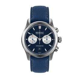 Bremont Alt1C Blue Automatic Chronometer 43mm Strap Watch Leonard Dews £2,997 at Leonard Dews