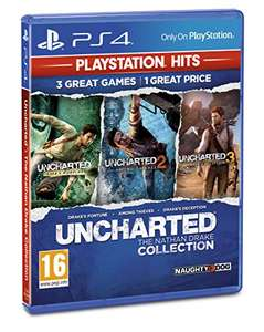 Uncharted 4: A Thief's End // Uncharted Collection - PlayStation Hits (PS4) - £7 Prime / +£2.99 Non Prime @ Amazon (Both together for £14)