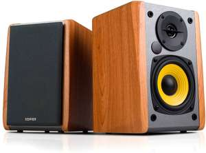 Edifier R1010BT 2.0 Bookshelf Multimedia Speaker System with Bluetooth, Maple - £69.30 at CPC Farnell