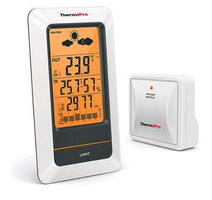 ThermoPro TP67 Wireless Weather Station Digital Thermometer - £16.77 Prime / +£4.49 non Prime - Sold by My iTronics and Fulfilled by Amazon.