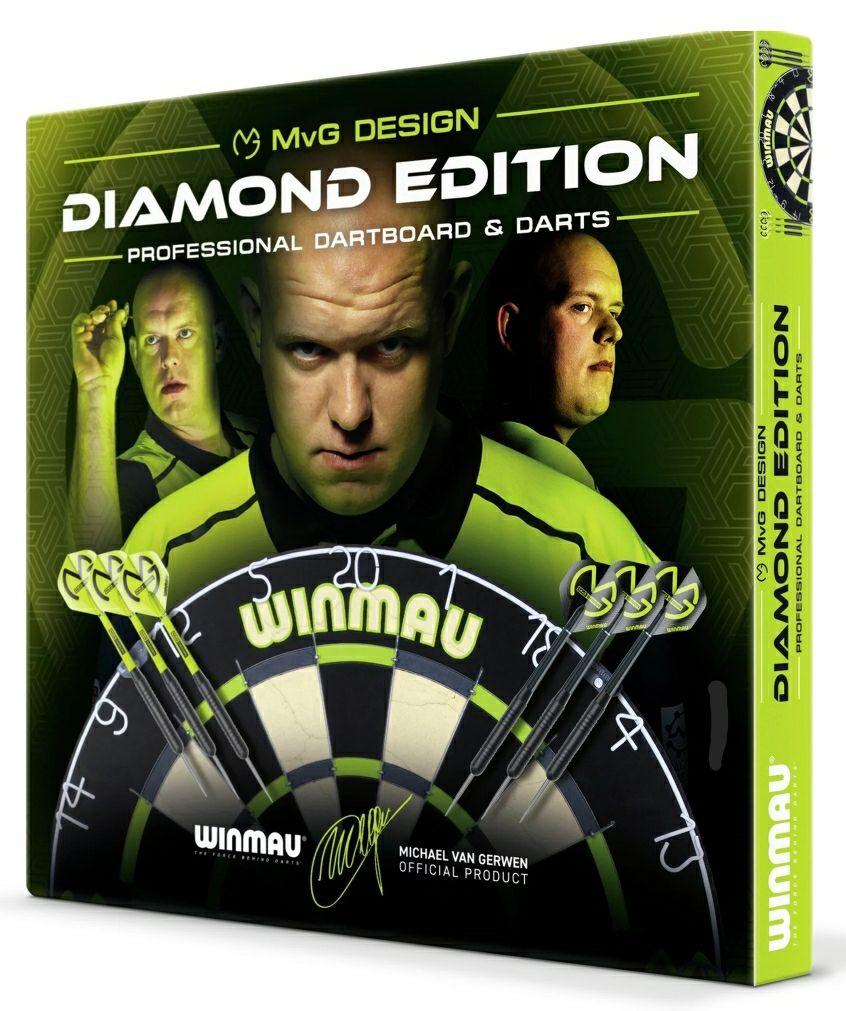 Winmau Michael van Gerwen Diamond Dartboard and Darts Set - £23.99 (free Click + Collect) @ Argos
