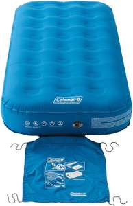 Coleman Airbed Extra Durable - single £42, double £43, raised double £54 at Amazon