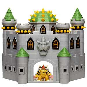 Nintendo Bowser's Castle Super Mario Deluxe Bowser's Castle Playset £20 delivered at Amazon