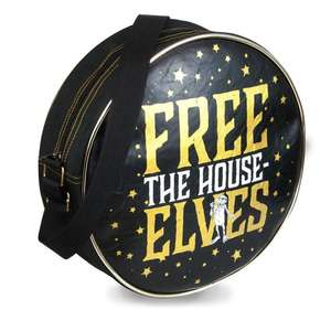 "Harry Potter Dobby Round Shoulder Bag ""Free The House Elves"" £10.48 Delivered @ Geekcore"