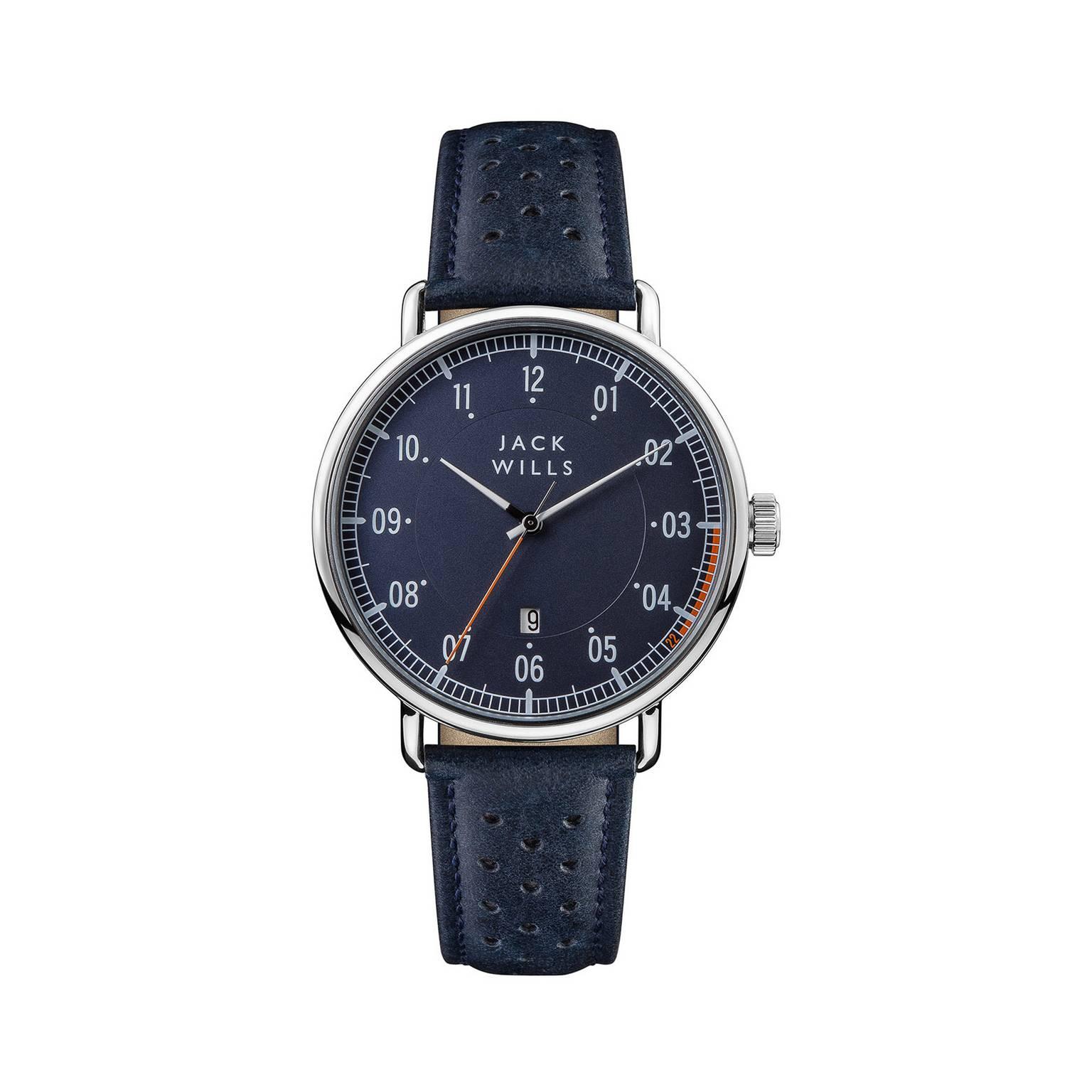 Jack Wills - Blue 'Acland' Mens Fashion Watch - JW003BLBL £22.50 + £3.49 delivery at Debenhams