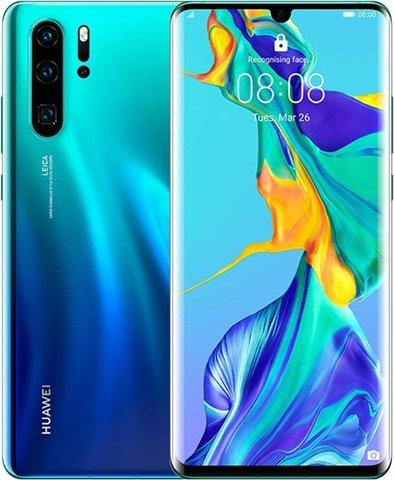 Pre-owned Huawei P30 Pro Dual Sim 8GB+128GB Aurora - Grade B EE £260 @ CEX