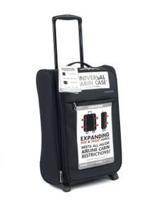 Constellation Expandable 2 Wheel Soft Cabin Suitcase £12 free click and collect at Argos