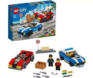 LEGO City Police Highway Arrest Cars Toy Set -Now £13.50 with Free Click and collect From Argos