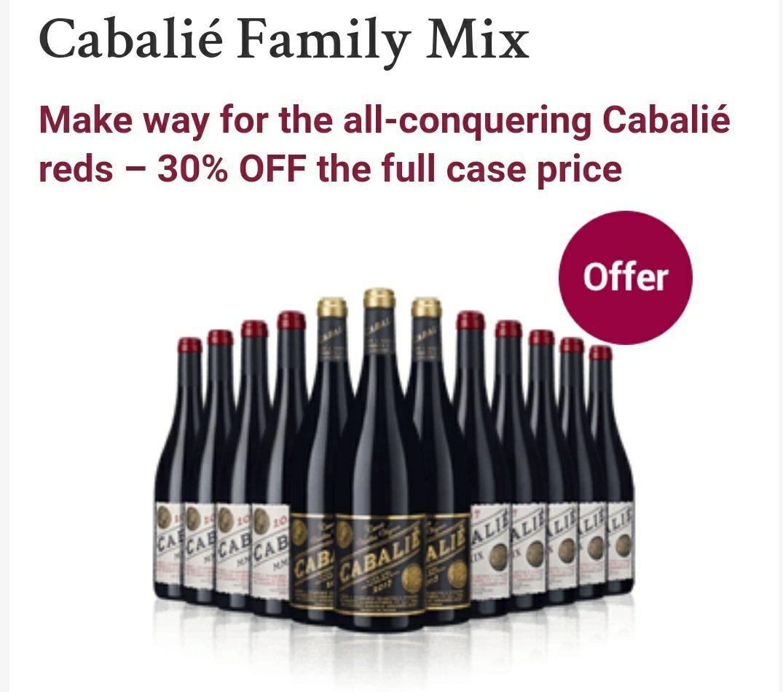 Cabalié Family Mix (12 x bottles) @ Laithwaite's - £103.87 Delivered
