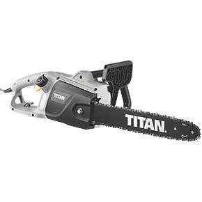 Titan TTL758CHN 230V 2000W Corded Electric Chainsaw £39.99 at Screwfix (Free to collect)